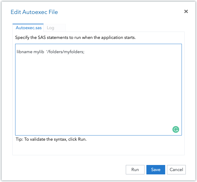 Working with SAS libraries 12