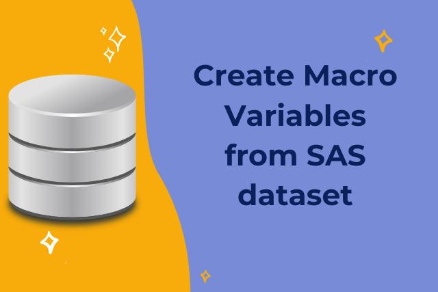 Creating macro variables from SAS dataset