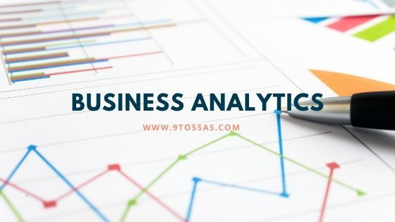 Business Analytics Overview