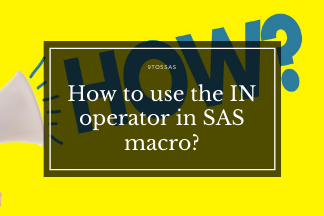 How to use the IN operator in SAS macro?